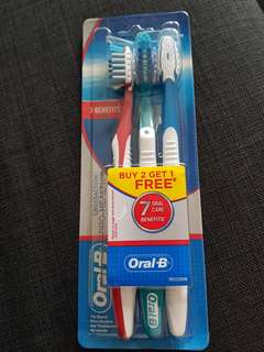 Brand new- unopened Oral B toothbrush