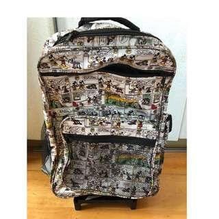 🚚 迪士尼書包登機箱Disney backpack luggage