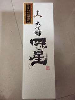 日本清酒 大吟釀 四星