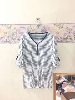Stripe Relaxing Tee
