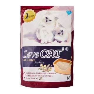 Love Cat Tofu Litter 6L