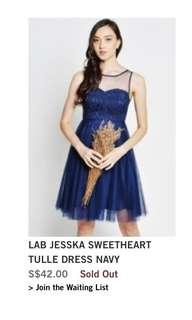LAB JESSKA SWEETHEART TULLE DRESS