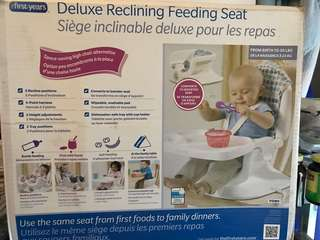 First Years Deluxe Recling Feeding Seat