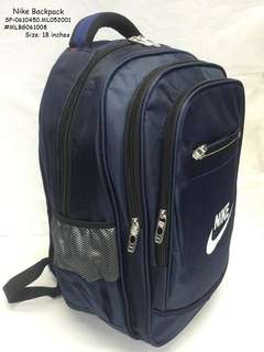 NIKE BACKPACK Size: 18 Inches  Price : 750