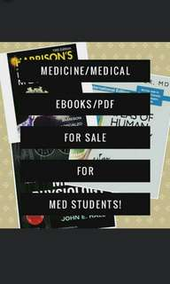 Medical/Medicine/Med Books & Reviewers for Med Students/Doctors