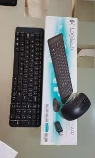 Logitech USB Wireless Keyboard Mouse