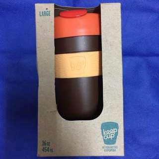 全新 包郵 澳洲 KeepCup Original 隨身咖啡杯 (L/16oz/454ml)