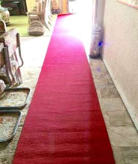Red carpet rent or sale