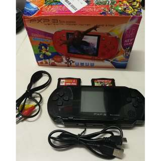 Black PXP 3 Slim Station 90k games inside (Sega games).