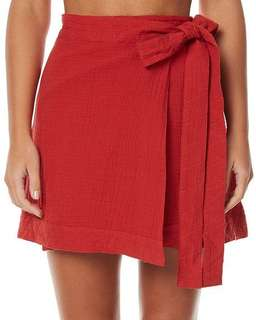 The fifth sweet deposition wrap skirt