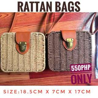 RATTAN BAGS FOR SALE