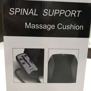 Back Massager cushion Spinal Support (BNIB) brand new