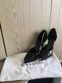 Givenchy wire decoration high heel shoes 高踭鞋