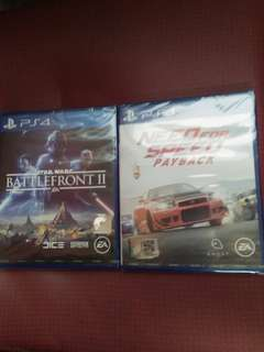 New Games PS4 RM159