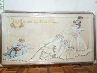 十字綉#结婚图案