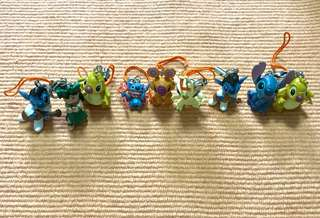 Stitch, Lilo and Friends Cute Figurines and Keychains