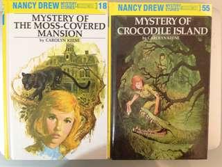 Nancy Drew #s 18 and 55