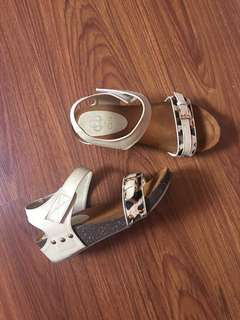 CLN Animal Print Sandals