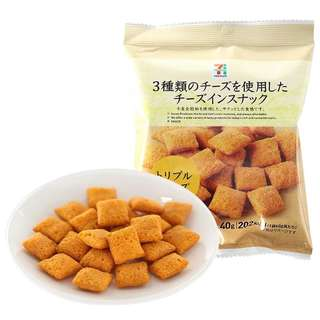 🚚 日本7-11三種起司餅乾