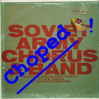 soviet army Vinyl LP used, 12-inch, may or may not have fine scratches, but playable. NO REFUND. Collect Bedok or The ADELPHI.
