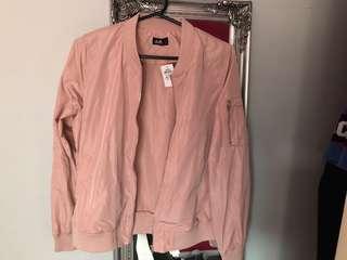 Pink bomber jacket 10-12