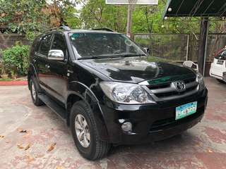 Toyota fortuner G 2008 model
