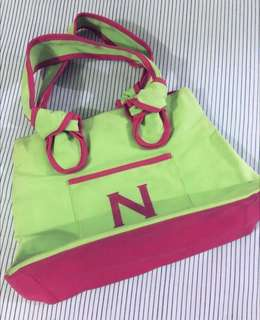 💁🏻‍♀️Neon Canvass Bag