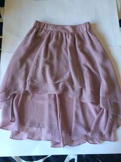 UO high to low skirt