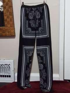BCBGMAXAZRIA paisley trousers