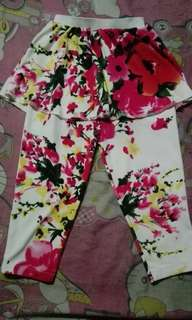 Floral Palda - Leggings