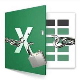 Excel unlock password