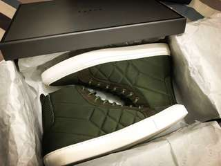Pedro High Top Sneakers Military Green