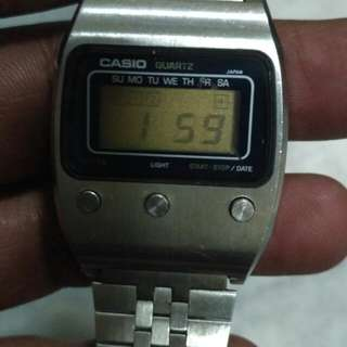 Vintage Casio LCD watch 1970s
