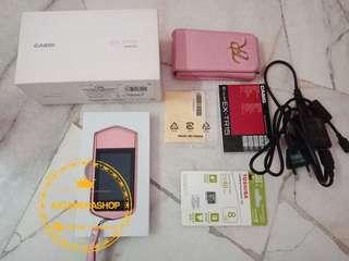 Casio TR15 baby pink SH 橘红色⭐️