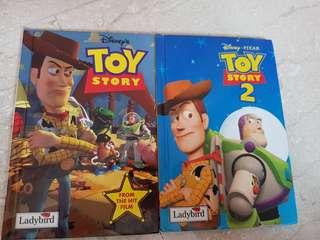 Ladybird Disney Toy story 1 & 2 story books