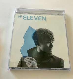 齊件 張敬軒 - No. ELEVEN. CD 連膠外套 (包平郵)(不議價)