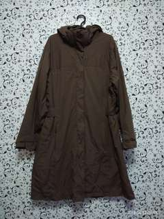 Brown Waterproof Jacket / Raincoat