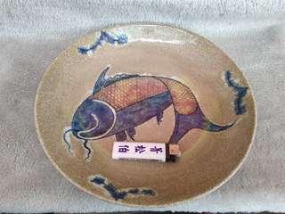 🚚 瓷器大魚盤