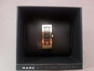 Marc Jacob Black Rectangle Watch