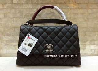 Boutique Quality Chanel coco handle- medium