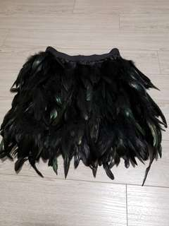 Feather Skirt from Asos