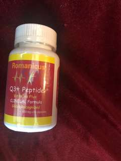 Q3+peptide vitamins Plus Clinical Formula Global Recognized
