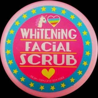 Unicorn whitening scrub INSTOCK(price inclusive of free smartpac😲😲😲)