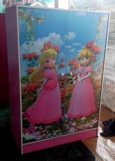 Lemari Pakaian Anak 2 Pintu ALA 832 PMR Pink