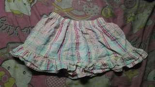 Pink checkered Skirt