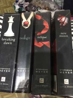Stephanie Meyer Twilight Book Set