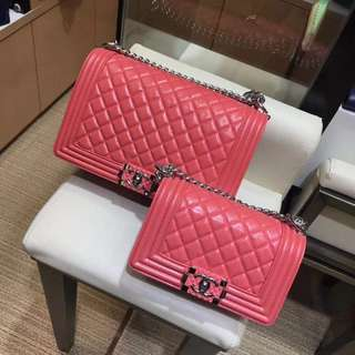 Chanel Quilted Le Boy