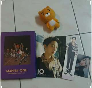 [WTS] WANNA ONE NOTHING WITHOUT YOU LAI KUANLIN FULL SET