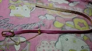 Pink Cute Belt