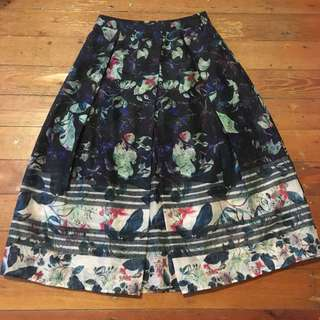 Portmans floral skirt